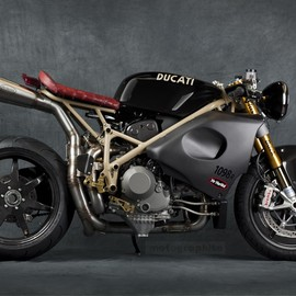 "DUCATI - 1098R ""FLASH BACK"" by Mr Martini"