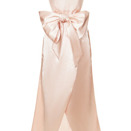 Cinched Bow Bodice Party Dress
