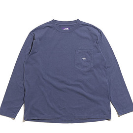 THE NORTH FACE PURPLE LABEL - 7oz L/S Pocket Tee-VN