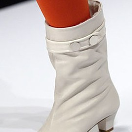 MARC JACOBS - Fall 2003 Look2 boots