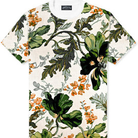 Underated - Green Envy Floral Tee