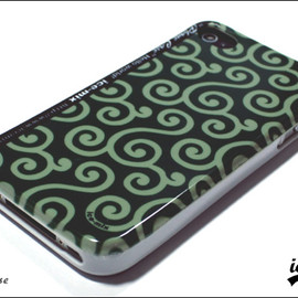 ice-mix - iPhone Case 唐草
