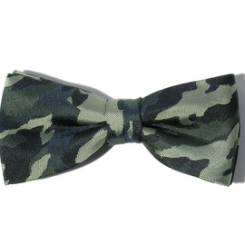 SOPHNET. - Camouflage Bow Tie