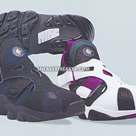 NIKE - Air Trainer Huarache - Newslate & Bright Grape
