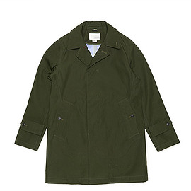 nanamica - GORE TEX Soutien Collar Coat-Moss Green