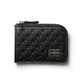 "HEAD PORTER - ""ZIGGY"" COIN CASE BLACK"