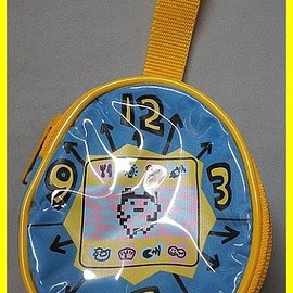 Tamagotchi - Tamagotchi porch blue time thing, made by Bandai