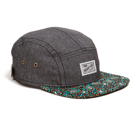 BENNY GOLD - CLOUD PAISLEY CHAMBRAY 5PANEL