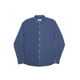 Palace Skateboards - OVER SHIRT NAVY 2 CHECK