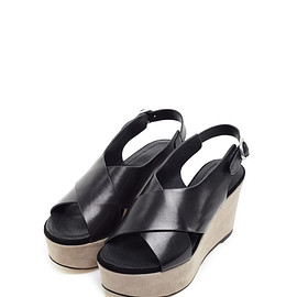 Women's Black Sandals BORBALA | RUDSAK
