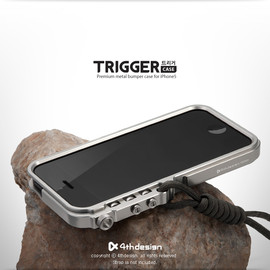 4thdesign - TRIGGER case Premium metal bumper case for iPhone5