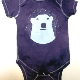 Bright Beige - Snowy Polar Bear Onsie
