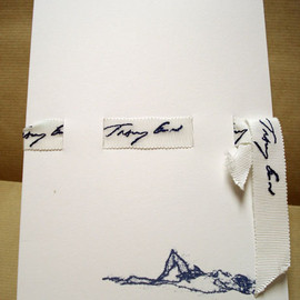 """Royal Mail (British Post Office) - """"Stationary Projects"""" Letter set by Tracey Emin"""