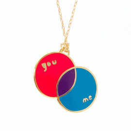 yellow owl workshop - You + Me Pendant - product images  of