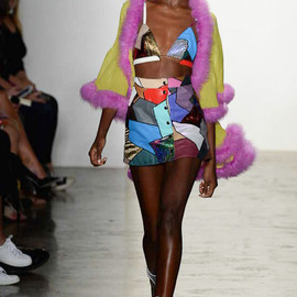 JEREMY SCOTT - Collage Bikini and Skirt