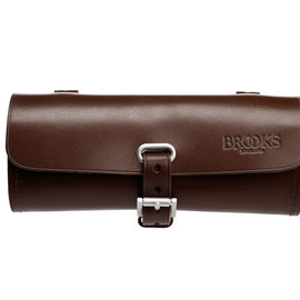 BROOKS ENGLAND - CHALLENGE TOOL BAG (BROWN)