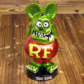 mooneyes - rat fink nadding doll