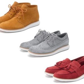Cole Haan - COLE HAAN KUDU SUEDE LUNARGRAND COLLECTION