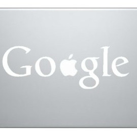 Google MacBook Decal