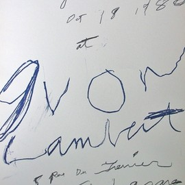 CY TWOMBLY - Poster