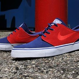 NIKE SB - NIKE SB ZOOM STEFAN JANOSKI DEEP ROYAL BLUE/UNIVERSITY RED