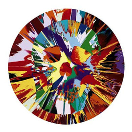 Damien Hirst - Helios Hysteria Intense Painting