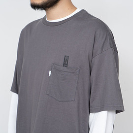 """Graphpaper - 男子自身 + Graphpaper """"S/S Oversized Pocket Tee"""""""