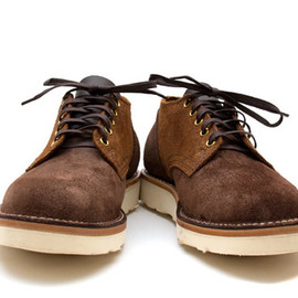 Viberg - Viberg Old #145 Oxford Two Tone Suede