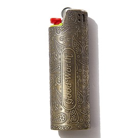 GOOD WORTH - PAISLEY LIGHTER CASE -LARGE