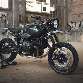 Injustice Customs - BMW R nineT Urban G/S custom scrambler