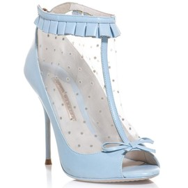 SOPHIA WEBSTER - Felice polka-dot open-toe shoe boot