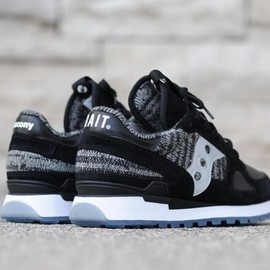 """BAIT x SAUCONY - SHADOW ORIGINAL CRUELWORLD 3 """"GLOBAL WARNING"""" – In-Store Reservations"""