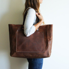 spartan - Stanley & Sons Leather Tote
