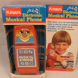 PLAYSKOOL - ELECTRONIC MUSICAL PHONE