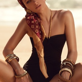 Louis Vuitton - black swimwear