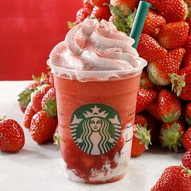 Starbucks - #STRAWBERRYVERYMUCHFRAPPUCCINO®