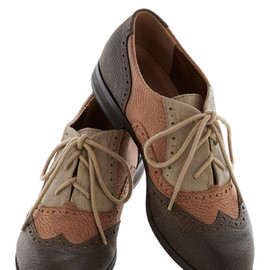 Modcloth - Sepia in the Right Direction Shoe