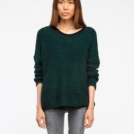 Alma Sweater in Forest