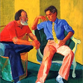 David Hockney - Hockney's Portraits and People