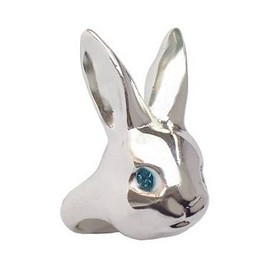 Me&Zena - Bright Eyes Rabbit Ring (Silver)