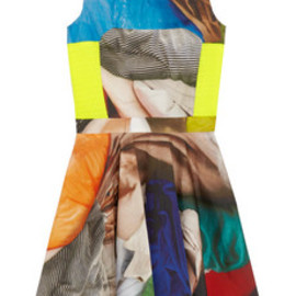 Chalayan - Speed Flare printed cotton dress