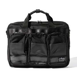 Manhattan Portage - Manhattan Portage BLACK LABEL / GANSEVOORT BRIEFCASE 1463