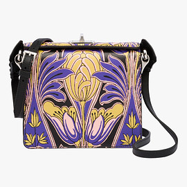 PRADA - Print Saffiano leather shoulder bag