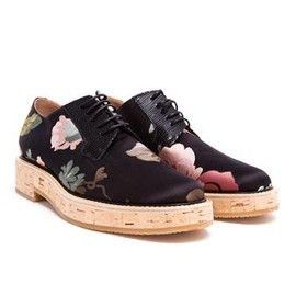DRIES VAN NOTEN - DRIES VAN NOTEN - Floral Fabric Brogues