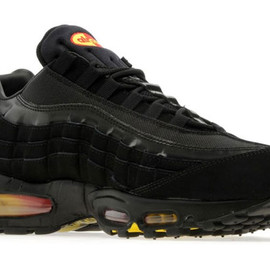 Nike - Air Max 95 - Black/Yellow/Cherry Red