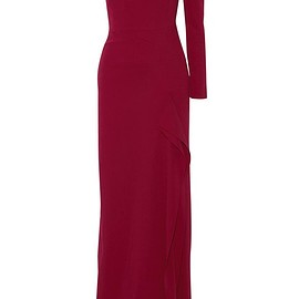 Roland Mouret - Galaham one-shoulder stretch-crepe gown