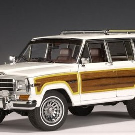 AUTOart - 1/18 JEEP GRAND WAGONEER 1989'( WHITE )