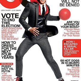 Condé Nast - GQ November 2012 Issue (Jeremy Lin)