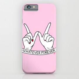 Society6 - WHATEVER FOREVER iPhone & iPod Case