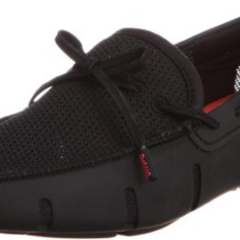 SWIMS - Lace Loafer - All Black